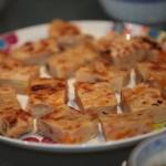 Chŏn aux oignons vert et crustacés