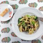 Pâtes au brocoli et à la saucisse