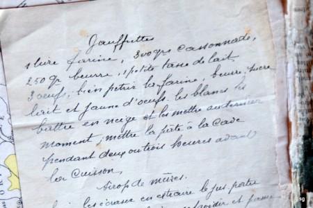 La recette des gaufrettes légères de mon arrière-grand-mère