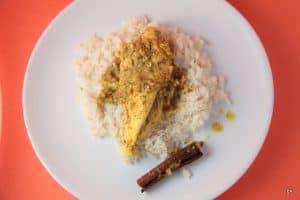 Nasi briyani, curry malaisien