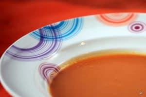 Soupe potiron et chou