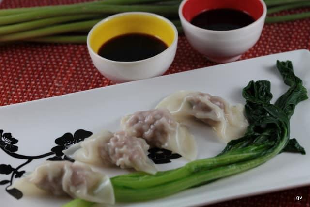 Jiaozi au porc