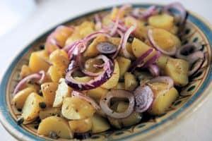 Pommes de terre aux câpres