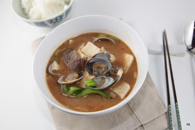 Ragoût au tofu et aux coquillages