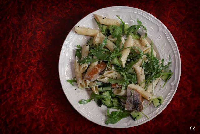 salade de pâte au hareng